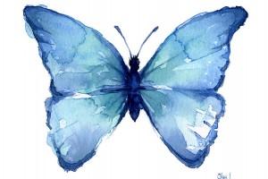 İçimdeki Mavi Kelebeğe Gülümsediğim Gün